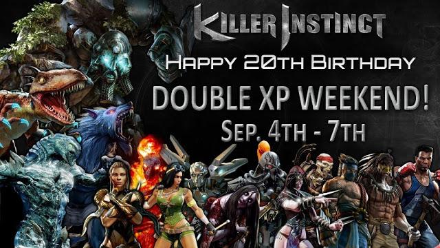 Разработчики игры Killer Instinct подготовили игрокам подарок в честь 20-летия франшизы