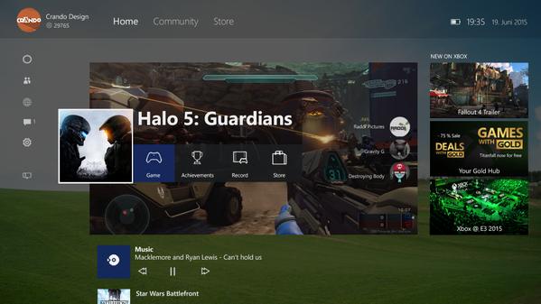 Версия Windows 10 для Xbox One имеет название «Одно ядро», некоторые подробности системы