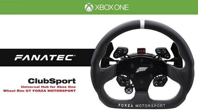 Компания Fanatec и студия Turn 10 представили рулевой обод в стиле Forza Motorsport 6