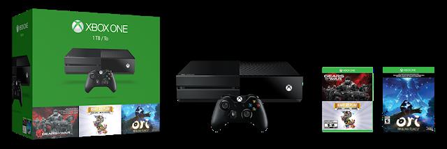 Анонсирован бандл Xbox One с лучшими эксклюзивами начала 2015 года