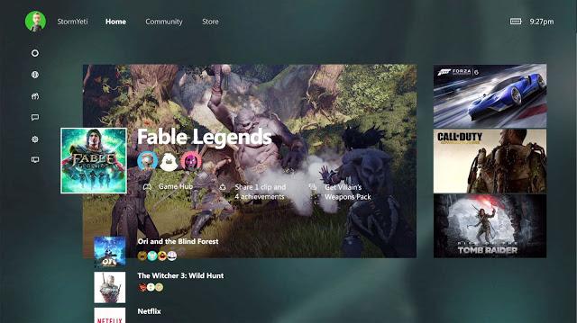 В сентябре бета-тестеры начнут получать доступ к новому интерфейсу Xbox One, но не все