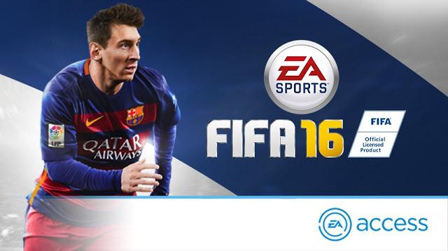 Бесплатная версия полной игры FIFA 16 станет доступна в сервисе EA Access за 5 дней до релиза