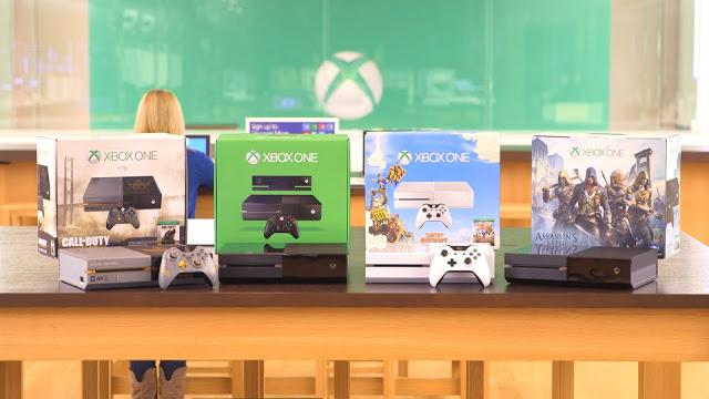 Компания Microsoft анонсирует 28 сентября 4 новых бандла Xbox One