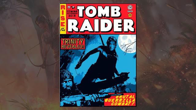 Представлен коллекционный постер игры Rise of the Tomb Raider