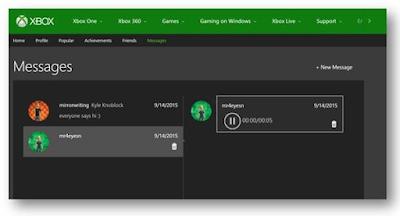 Компания Microsoft обновила сайт Xbox.com, добавив новую функциональность