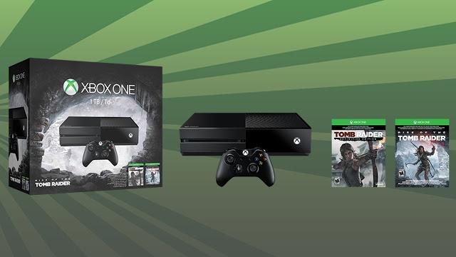 Компания Microsoft анонсировала бандл из приставки Xbox One с Rise of the Tomb Raider