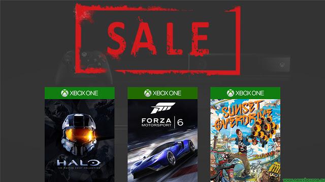 Купить дешево диски с играми для Xbox One можно в рамках новой акции