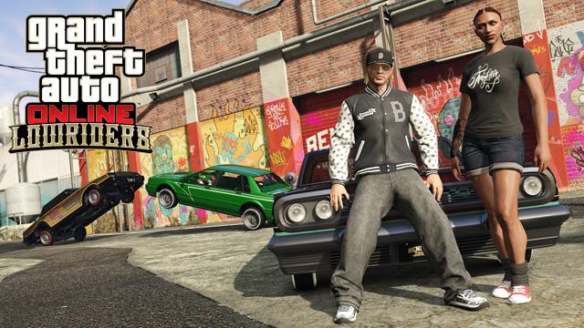 Дополнение Lowriders для GTA Online выйдет 20 октября