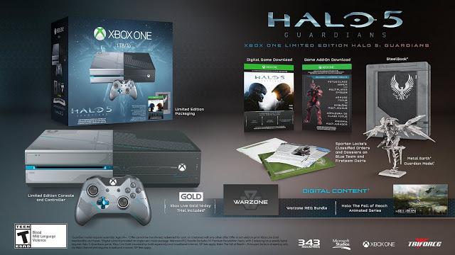 Распаковка лимитированного бандла Xbox One, выполненного в стиле Halo 5