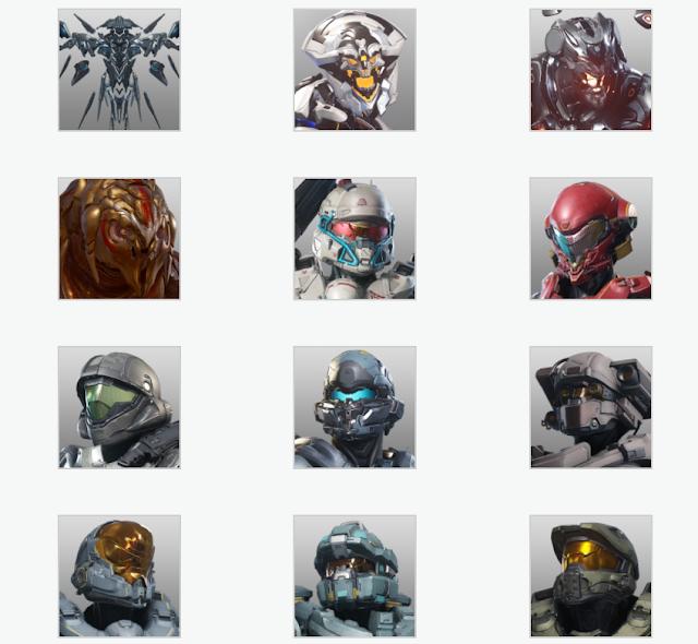Компания Microsoft подготовила новые Gamerpic к релизу Halo 5 Guardians