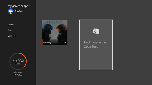 Предварительная загрузка Halo 5: Guardians потребовала от игрока 131 Терабайт свободного места на жестком диске