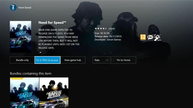 Пробная версия игры Need for Speed стала доступна подписчикам EA Access, ответы на основные вопросы
