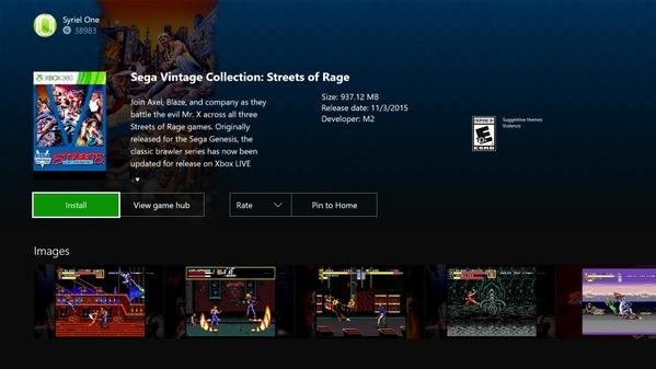После релиза обратной совместимости, игры с Xbox 360 нельзя будет купить на Xbox One