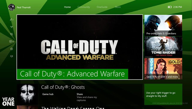 Прошивка Xbox One New Experience получила очередное обновление, список изменений
