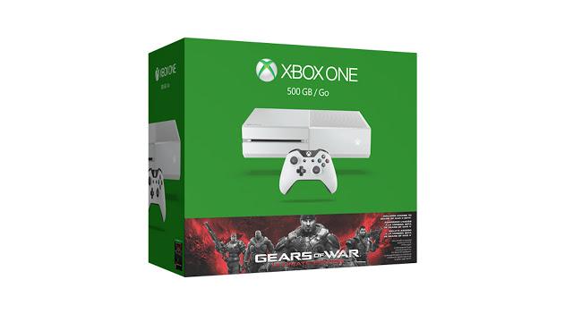 Анонсирован бандл с приставкой Xbox One в белом цвете и игрой Gears of War Ultimate Edition