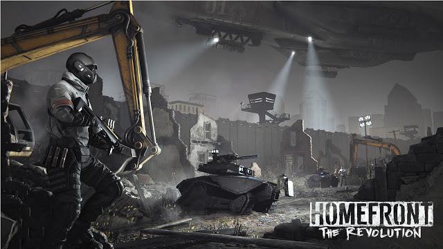 Бука полностью локализует игру Homefront the Revolution, представлен русский трейлер