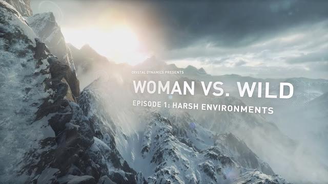 Цикл передач Woman vs. Wild подготовит игроков к релизу Rise of the Tomb Raider