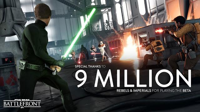 В тестировании Star Wars Battlefront приняло участие более 9 млн человек, анонсирован Season Pass