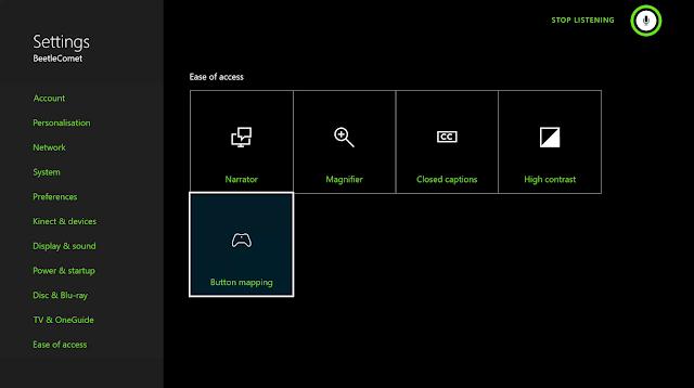 Игроки смогут переназначать действия клавиш стандартного геймпада на Xbox One