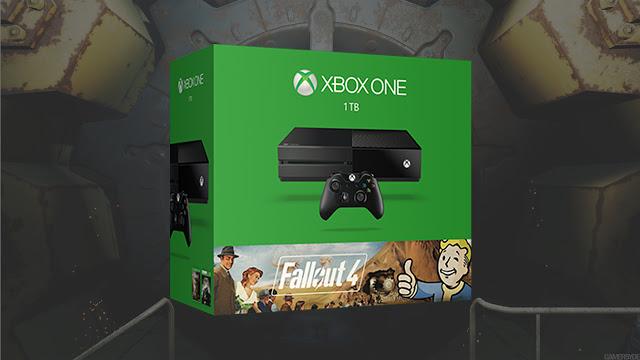 Компания Microsoft анонсировала бандл Xbox One с игрой Fallout 4