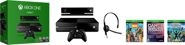 Новый бандл Xbox One с сенсором Kinect анонсировала компания Microsoft