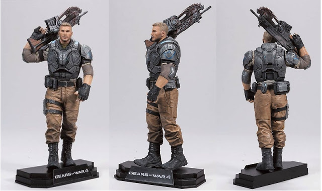 Коллекционные игрушки по серии Gears of War выпустит компания McFarlane Toys