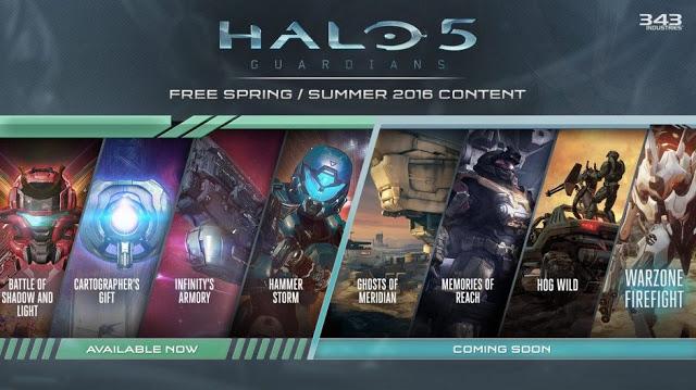 Состоялся релиз бесплатного дополнения для Halo 5 - Hammer Storm, список изменений