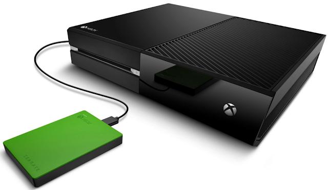 Представлен специализированный внешний жесткий диск для Xbox One объемом в 4 Тб
