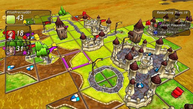 Игра Carcassonne добавлена в список проектов по обратной совместимости