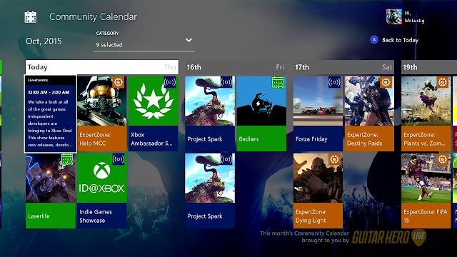 Компания Microsoft выпустила приложение «Календарь» для Xbox One