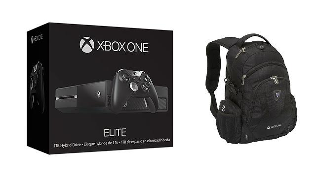 Рюкзак с символикой Xbox One бесплатно для всех покупателей консоли по скидке