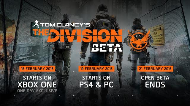 В открытом тестировании The Division будет доступен новый контент + инфографика прошедшей беты