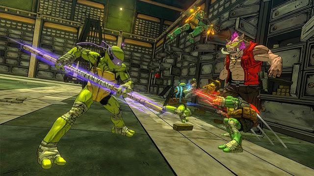 Представлен геймплей игры за Леонардо в новом проекте TMNT: Mutants in Manhattan