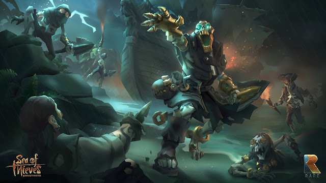 Новый геймплей игры Sea of Thieves попал на видео