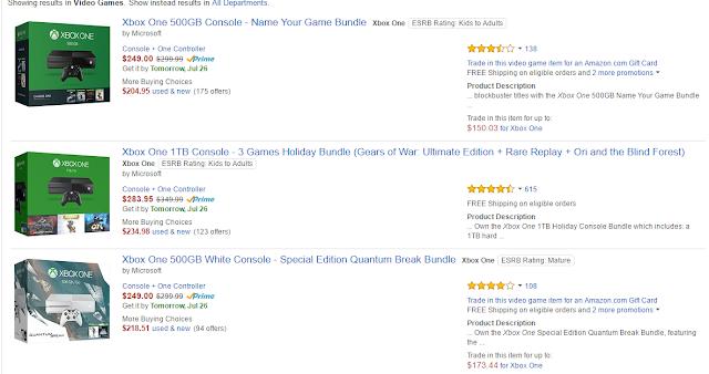 Microsoft понизила цену на Xbox One до исторического минимума