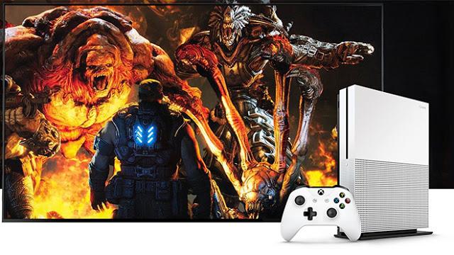 Xbox One S будет выполнять апскейлинг всех игр до разрешения в 4K