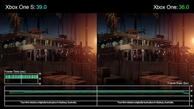 Xbox One S мощнее оригинального Xbox One: сравнение в играх