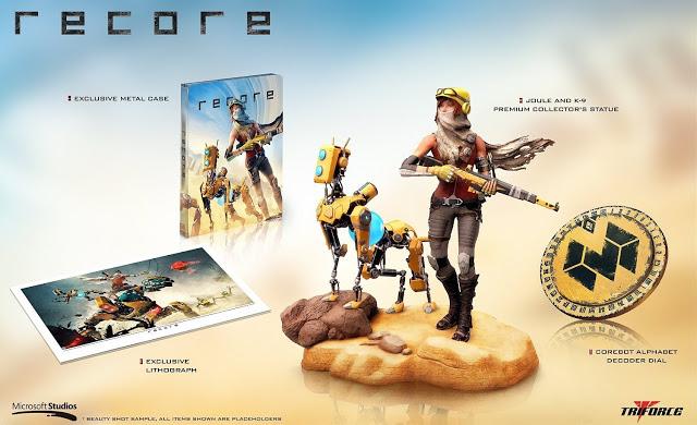 Появилось видео с распаковкой коллекционного издания игры Recore