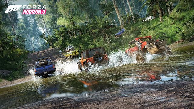 Стала известна дата выхода демо-версии игры Forza Horizon 3
