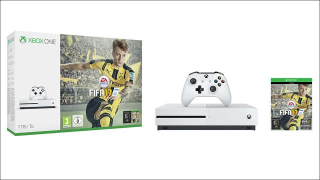 Анонсированы 4 бандла Xbox One с FIFA 17