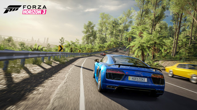 Новые полчаса геймплея игры Forza Horizon 3