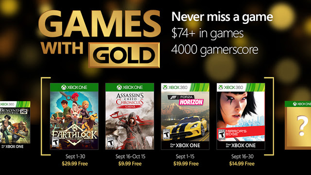 Games With Gold сентябрь: Earthlock: Festival of Magic и Assassin's Creed Chronicles: China