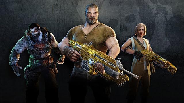 Стал известен список бонусов за предварительный заказ Gears of War 4
