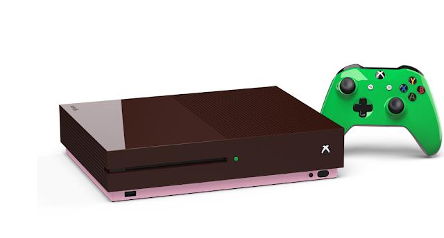 Xbox One S можно заказать в любой расцветке