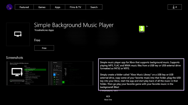 Форматы MP4 и M4A стали поддерживаться на Xbox One при проигрывании музыки в фоне