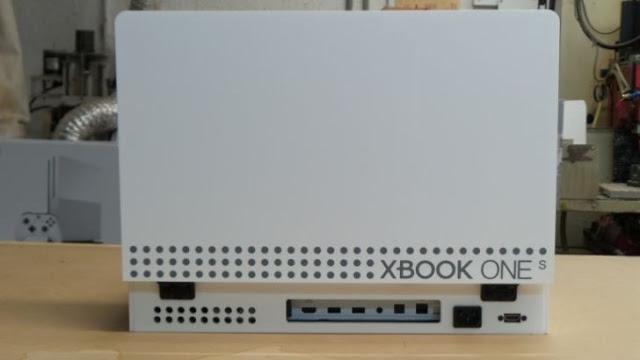Xbox One S превратили в портативную консоль
