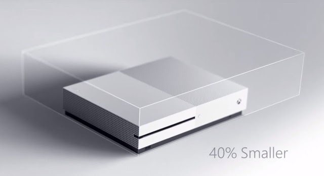 Microsoft исправила обманчивую графику размеров Xbox One S в новой рекламе