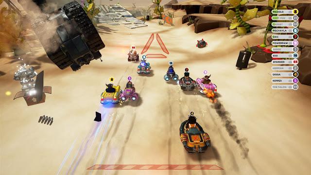 Появилась возможность бесплатно попробовать игру Obliteracers на Xbox One