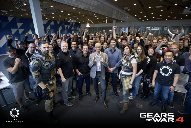 "Gears of War 4 ушла ""на золото"""