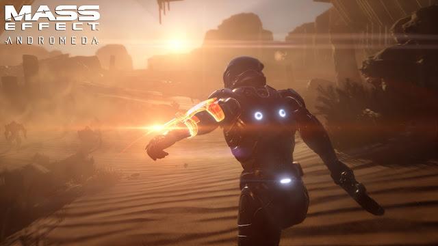 Появился первый ролик с геймплеем игры Mass Effect Andromeda